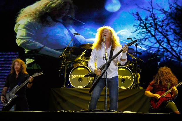 Megadeth Ecuador