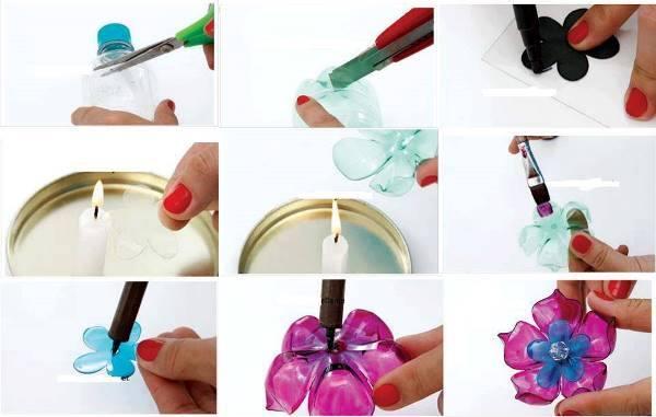 Как сделать пластик из бутылки