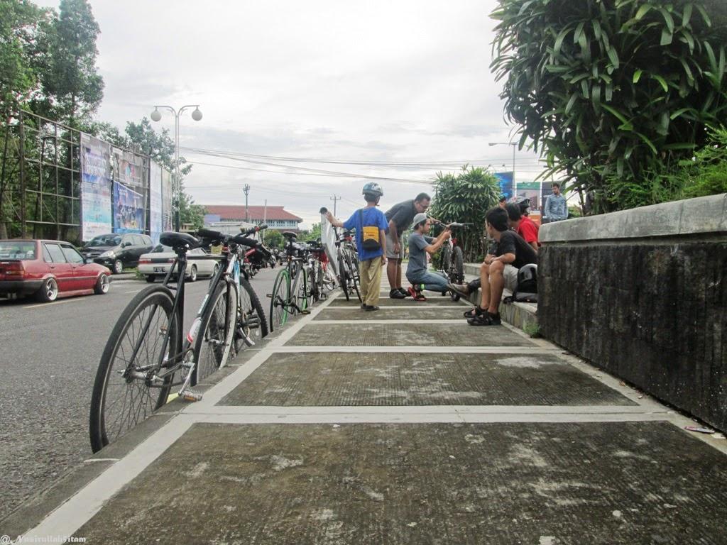 Konsultasi tentang sepeda dulu