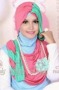 Model hijab cantik untuk remaja muslimah