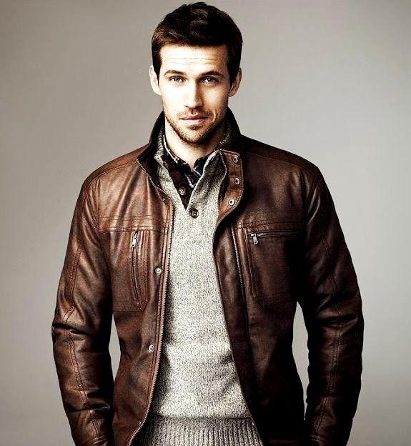 Mens Tan Leather Jacket Fashion Tips