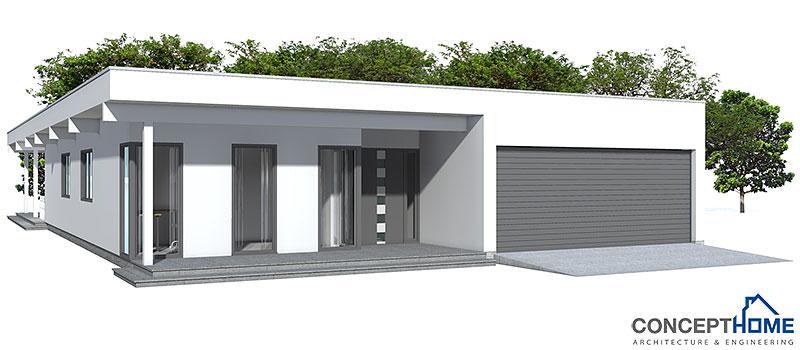 Contemporary house plans contemporary house design ch117 for Concept home com