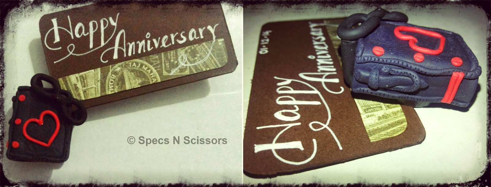 Specs N Scissors - Customized Gifts - Magnet Message Holder