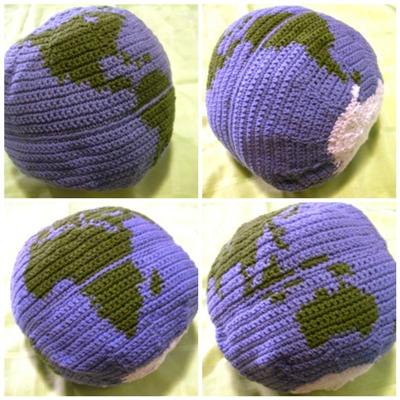 Crochet Parfait Globe Pillow Or Ball Crochet Along