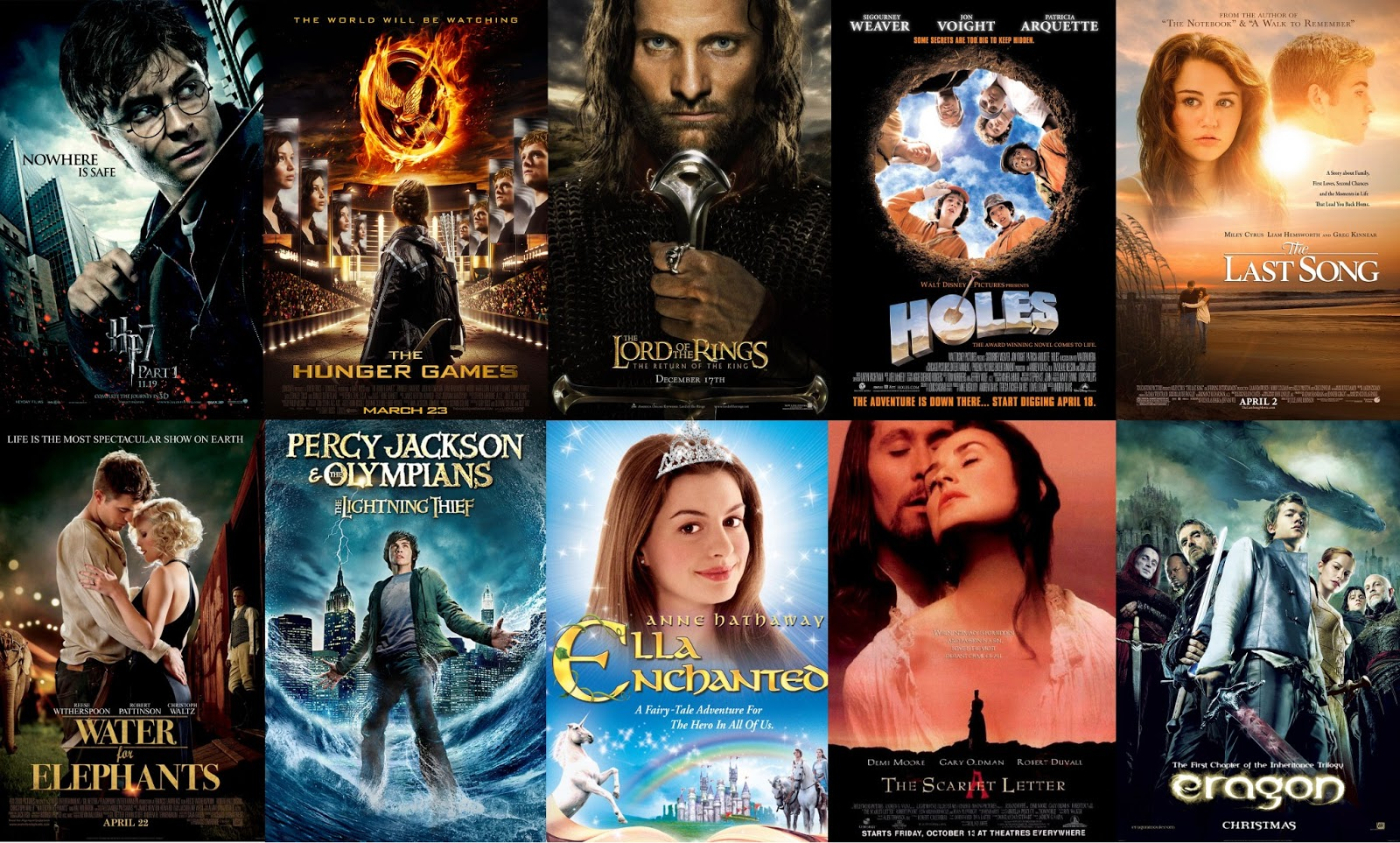 Ten magnificent movie adaptations that are asgood asthe books