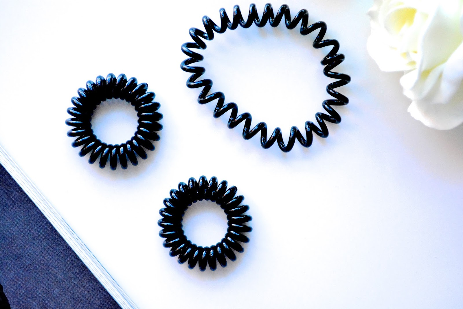 Invisibobble, Hair Bobble, Hair Tie, Black Invisibobble