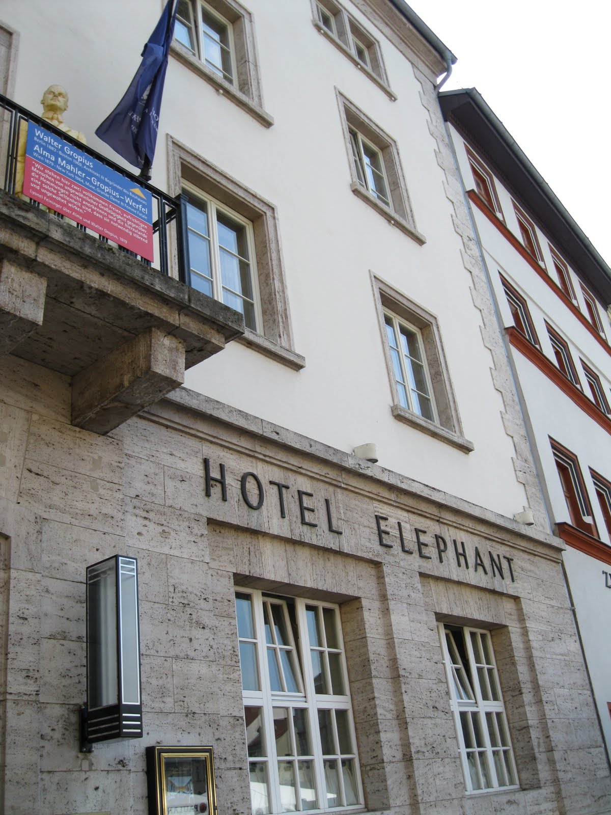 Germany trip block iii adventure 7 weimar hotel elephant for Design hotel elephant