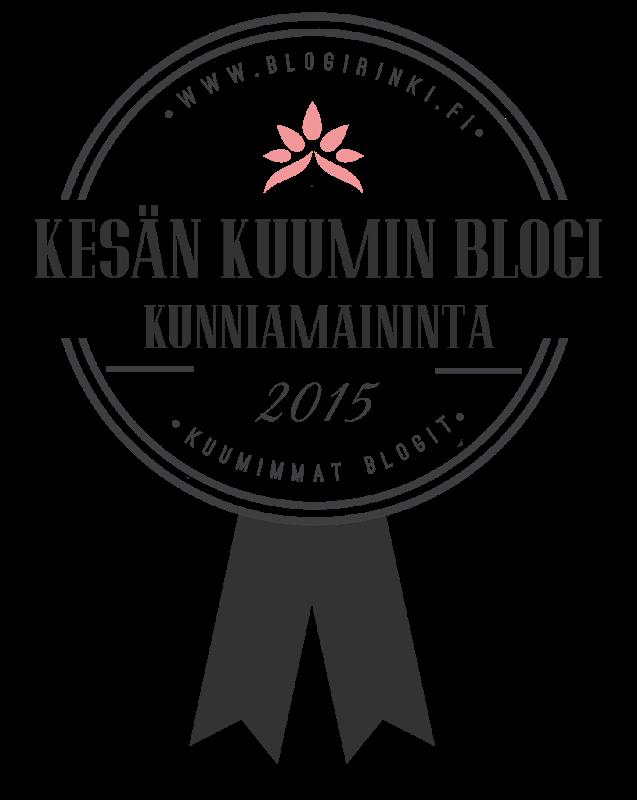 KESÄN KUUMIN BLOGI 2015