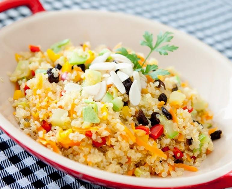 Quinoa à Grega (vegana)