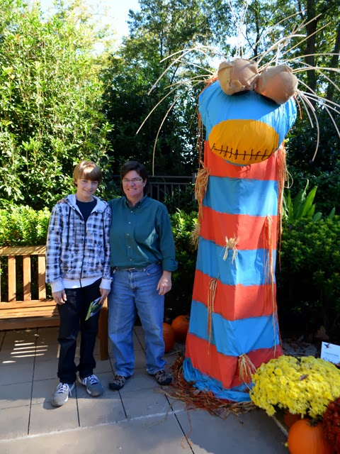 Scarecrows in the Garden, Atlanta Botanical Garden