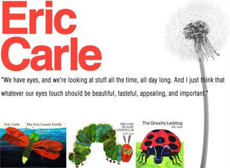 Happy Birthday Eric Carle