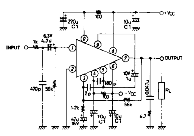 amplifiercircuits com stk086g rh amplifiercircuits com Tube Amplifier Schematic Diagrams 6L6 Tube Amplifier Schematic