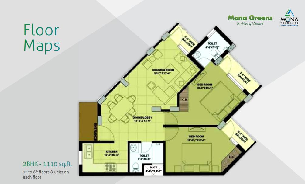 mona greens floor plan