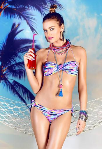 Serbian model Sofija Milosevic sexy bikini body for Extreme Intimo swimwear models photo