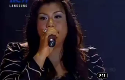 Indonesian Idol on Set Fire To The Rain   Regina Vs Adele   Aris Sugianto   Catatan Si