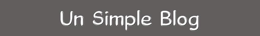 Un Simple Blog