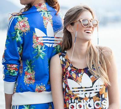 roupas esportivas Farm Adidas Originals comprar