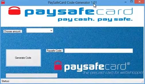paysafe generator online