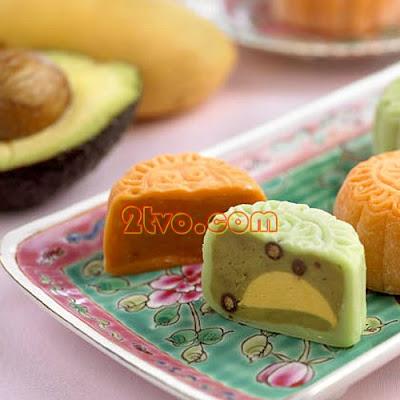 Bánh trung thu hương sô cô la vỏ ngoài trắng tuyết Fullerto