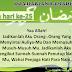Doa Harian Bulan Ramadhan | Doa Hari Ke-25