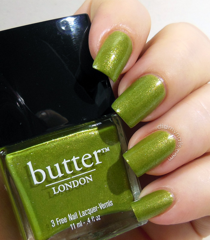 butter london dosh swatch
