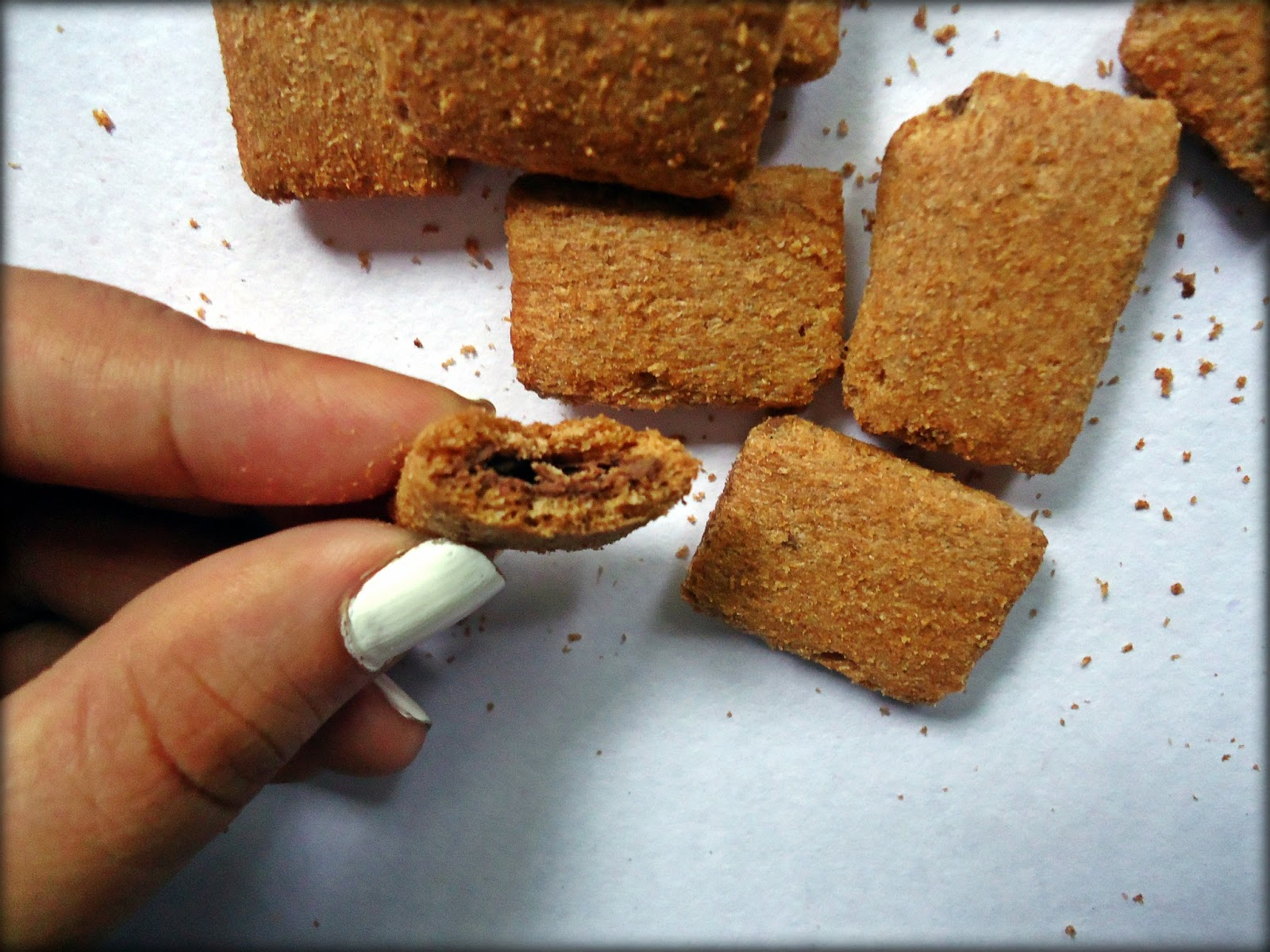 Chocosophy: Win Win Magic Crunch chocolate-filled corn snack
