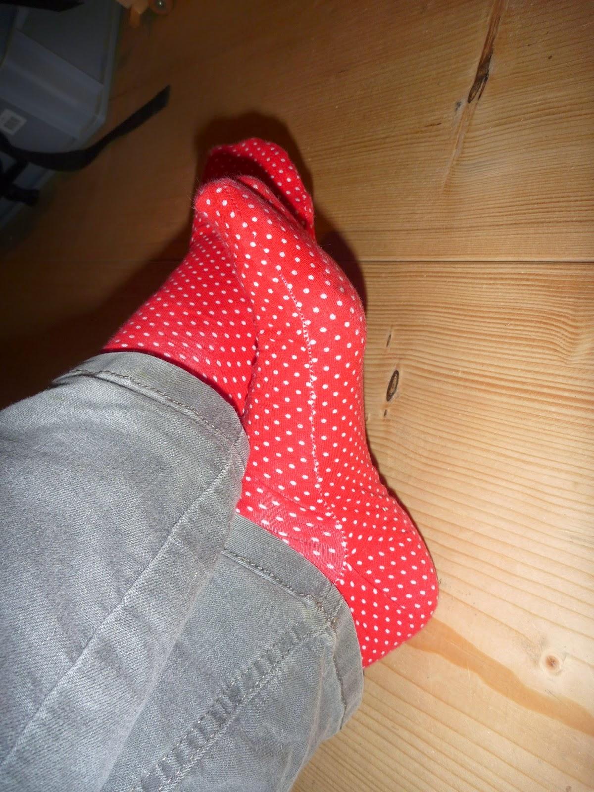 Socken nähen 38 - 42