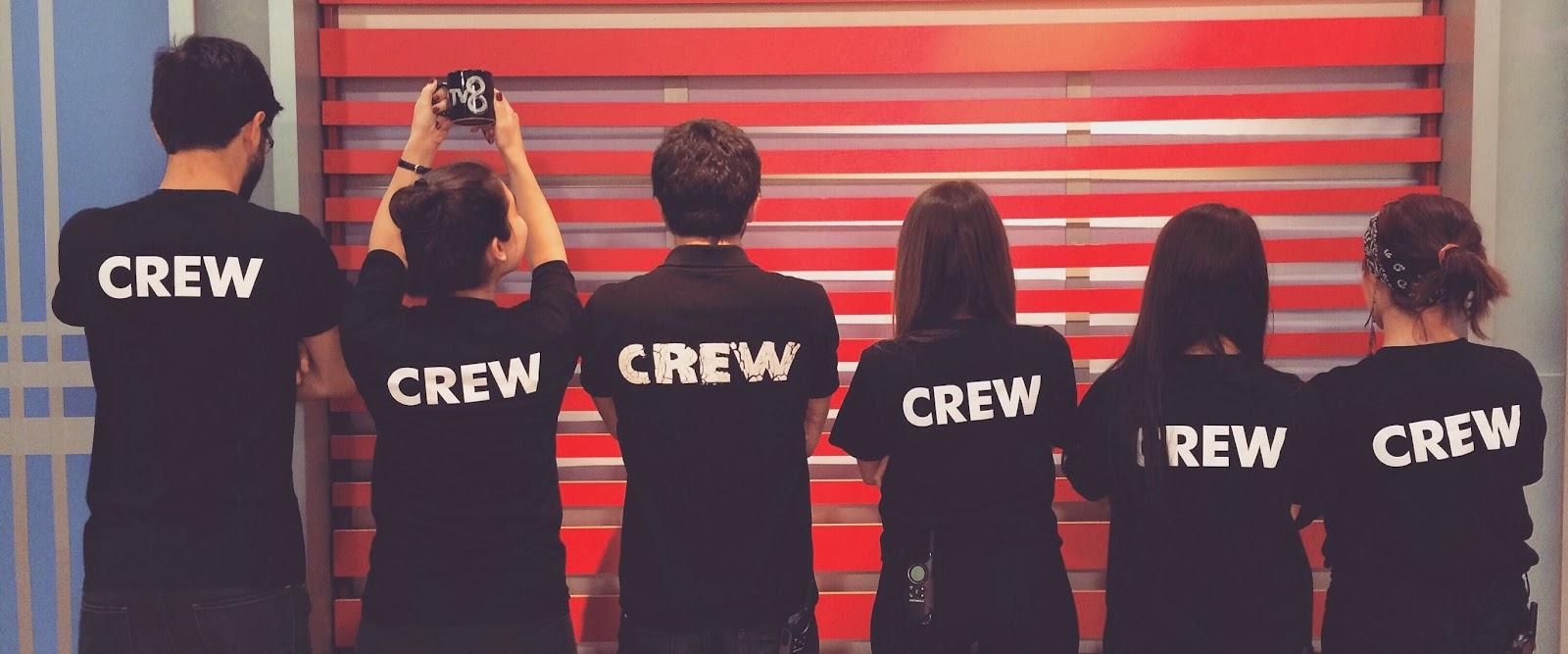 saba tumer ile oyuna geldik crew ekip acun medya tv8