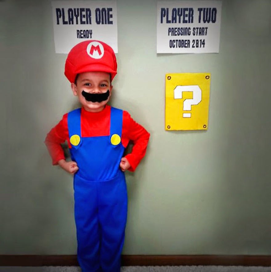 30 Of The Most Creative Baby Announcements Ever - Mario Is Finally Getting His Luigi!