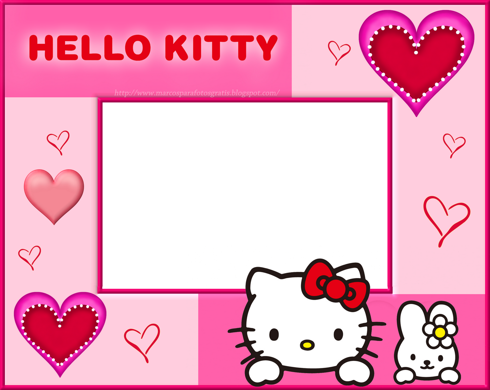 Download image Marcos Para Fotos De Hello Kitty PC, Android, iPhone