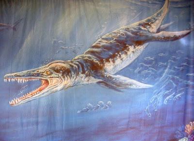 reptiles marinos gigantes Kronosaurus