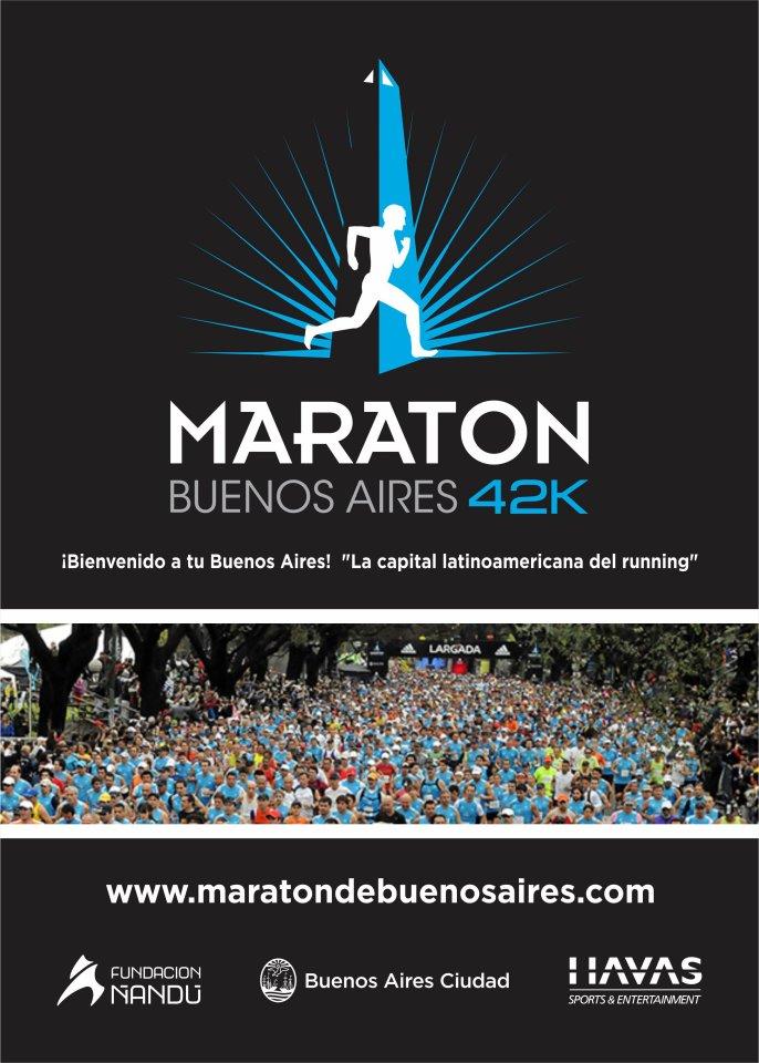 volantes de carreras  maraton buenos aires 42k  10  2012