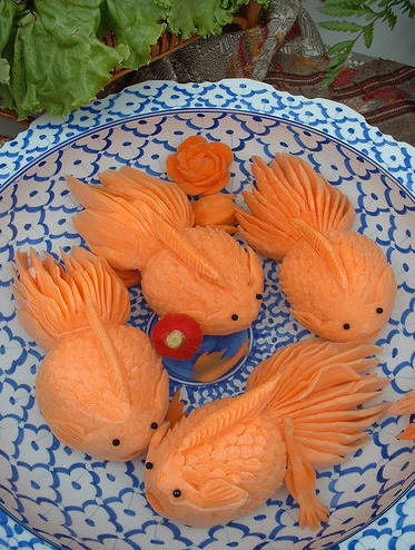 food art fish