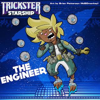 Trickster Starship - The Engineer