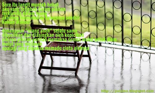 Puisi Renungan Dan Kenangan Suatu Sore _ Dima Nuga