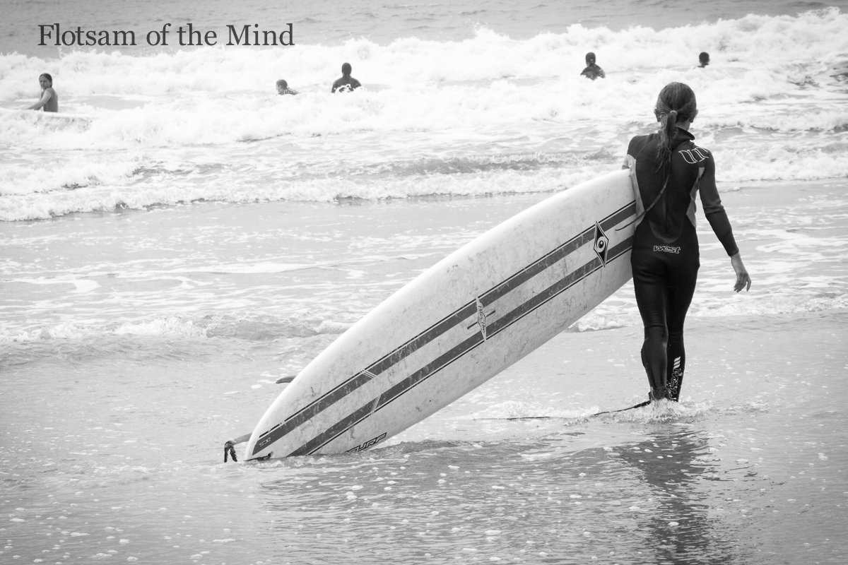 Waiting to Surf - Flotsam of the Mind