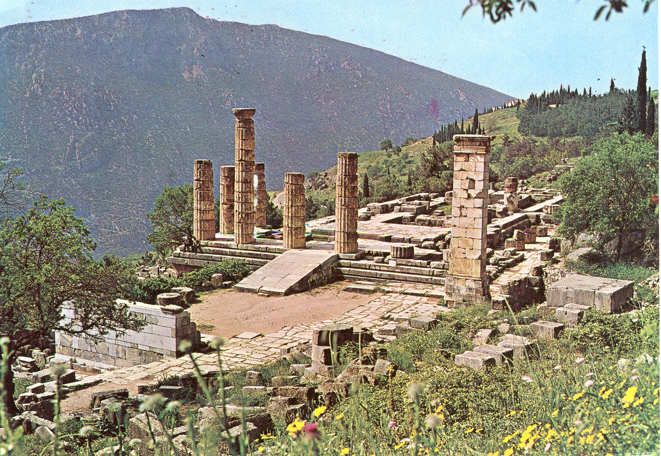 Delphi Greece  City new picture : ... looked to the future, not their own childhoods. The ruins of Delphi