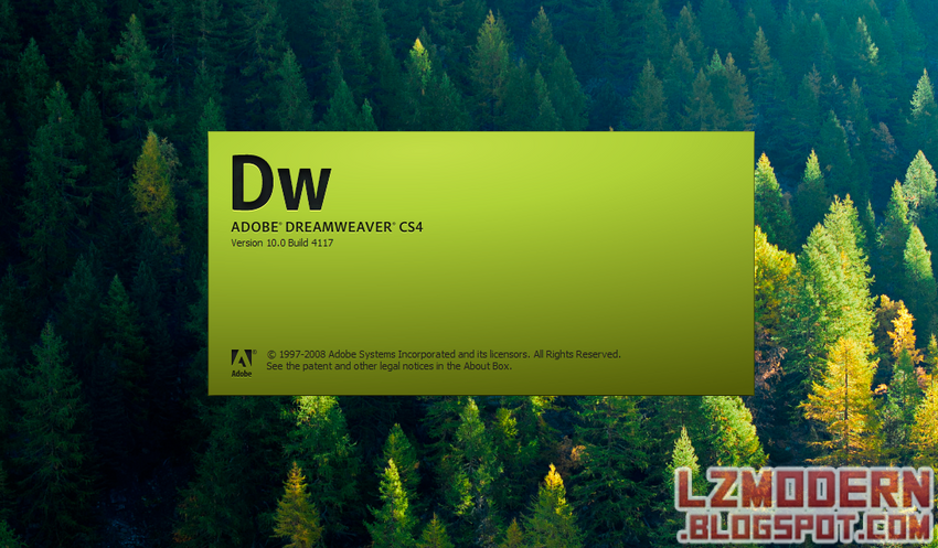 Adobe Dreamweaver CS4 v10.0.0.4117 Versi Portable (Registered)