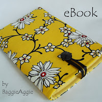 Fabulous fabric Kindle cases by BaggieAggie, handmade in the UK.