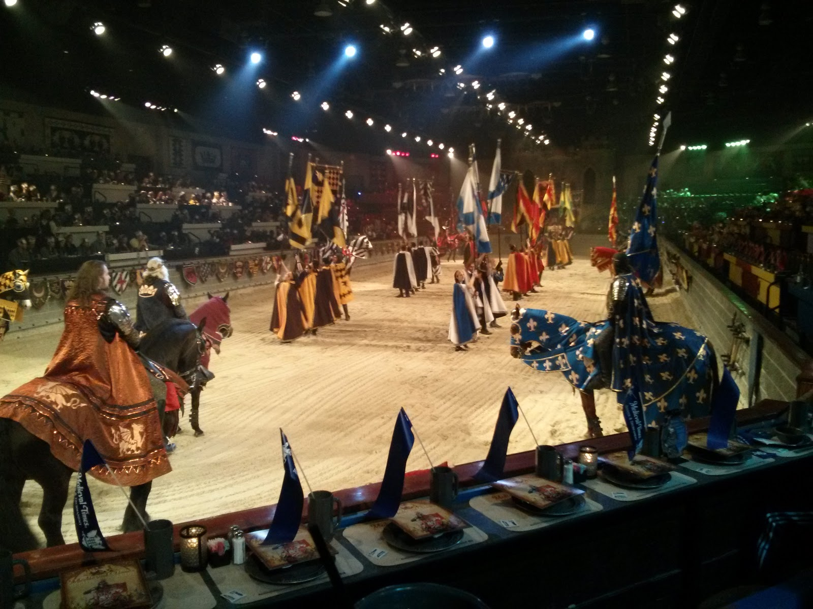 Medieval Times Dinner & Tournament was launched on the island of Majorca in The entertainment is based on the tradition of royal families inviting guests to a festival and feast to watch knights compete. The company debuted in the United States in The company s castles have entertained nearly 30 million guests.8/10().