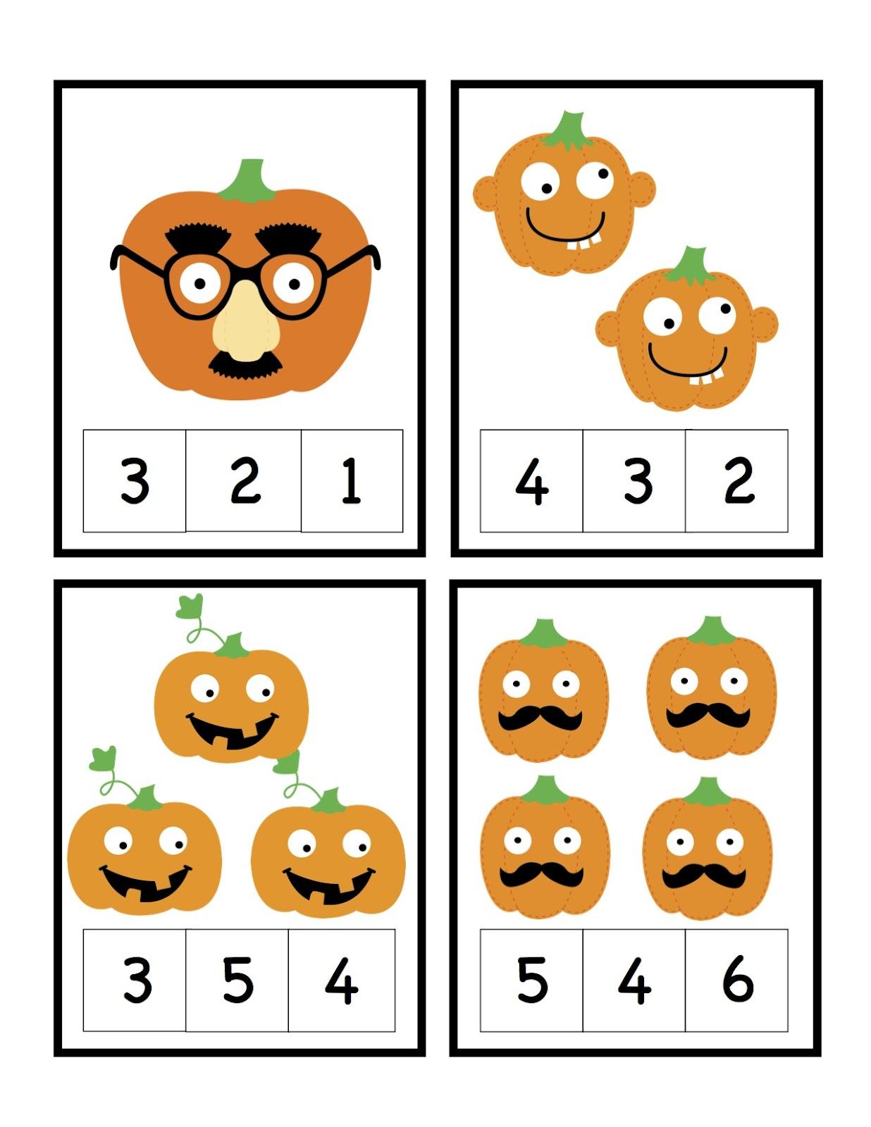 Pumpkin Worksheets for Kindergarten Images & Pictures - Findpik