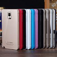 เคส-Samsung-Galaxy-Note-4-รุ่น-เคสโน๊ต4-แบบเฟรม-Aluminium+PC-บางเฉียบ