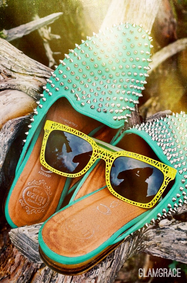 Jeffrey Campbell Spikes - BonLook Cutout Geometric Sunglasses