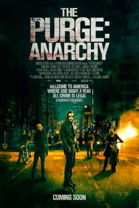 Film The Purge: Anarchy 2014 di Bioskop
