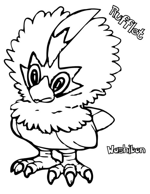 Pokemon Black And White Coloring Pages Free Gtgt Disney