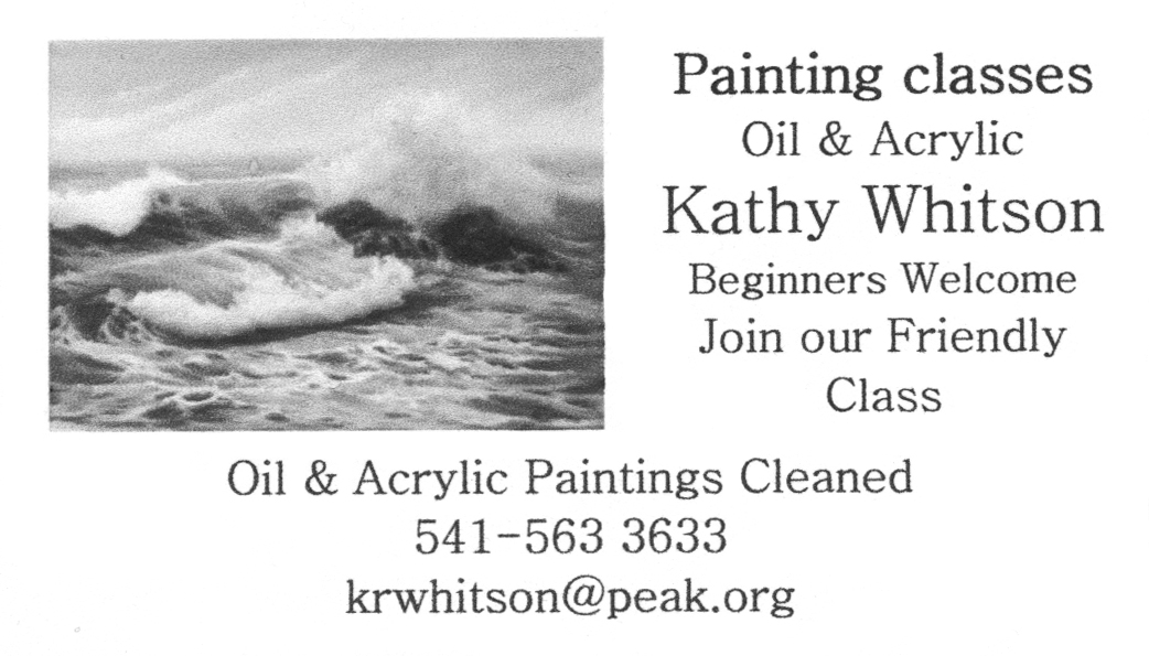 Kathy Whitson Painting Classes