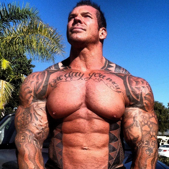 STRENGTH FIGHTER™: Rich Piana Workout