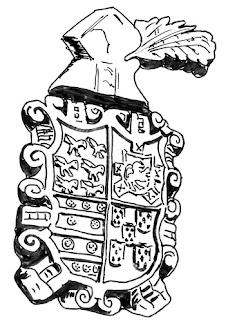 Escudo de la casa de la marquesa de Casa Valdés, en Pravia
