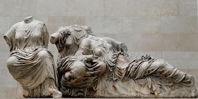 Escultura del Museo Británico de Londrés