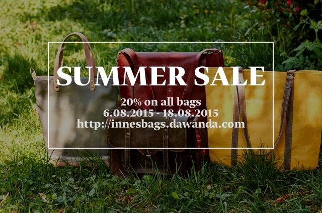 Акция на сумки 20%